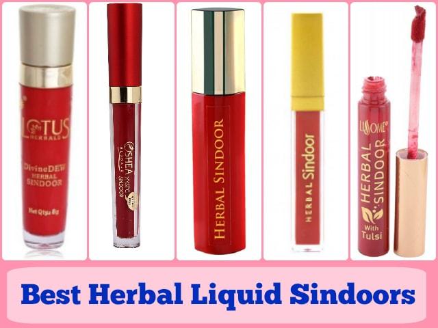 Best Herbal Liquid Sindoors in India