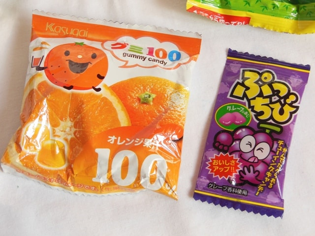 Japan Candy Box March 2016 Gummy Candy