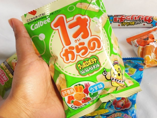 Japan Candy Box March 2016 Snacks