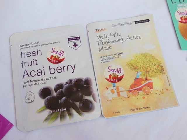 Skin18.com Face Masks