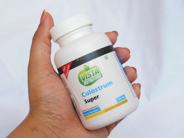 Vista Nutrition Colostrum Super Packaging