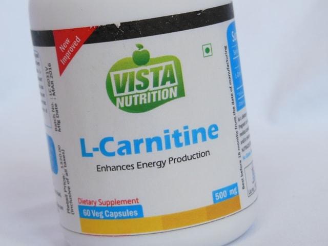 Vista Nutrition L-Carnitine Review