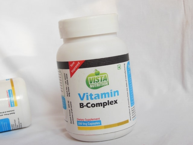 Vista Nutrition Vitamin B Complex Capsules