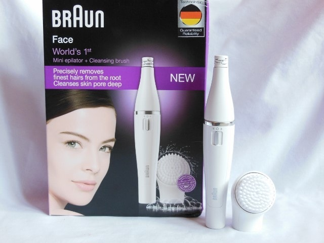 Blog Sale- Braun face Mini Epilator 810