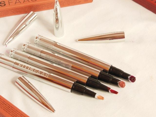 Ellis Faas Lip Color Cream and Glosses Packaging
