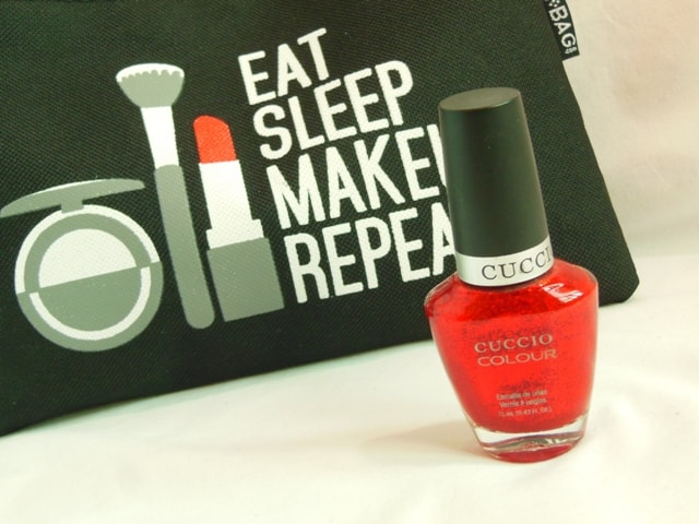 June Fab Bag 2016- Cuccio Color Nail Paint-Red