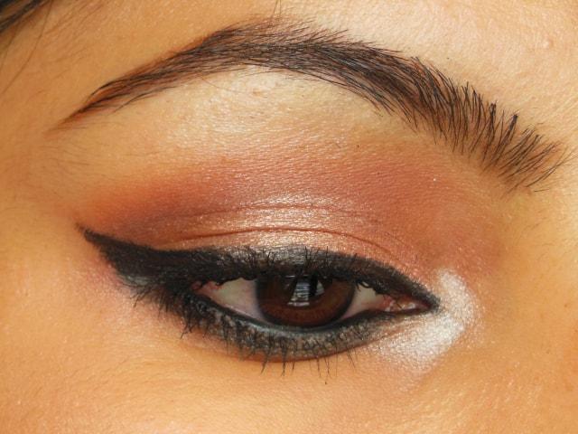 PAC Cosmetics Intense Duo Eyeliner Pencil Black EOTD