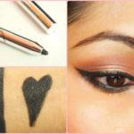 PAC Cosmetics Intense Duo Eyeliner Pencil Black Look