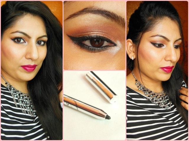 PAC Cosmetics Intense Duo Eyeliner Pencil Look