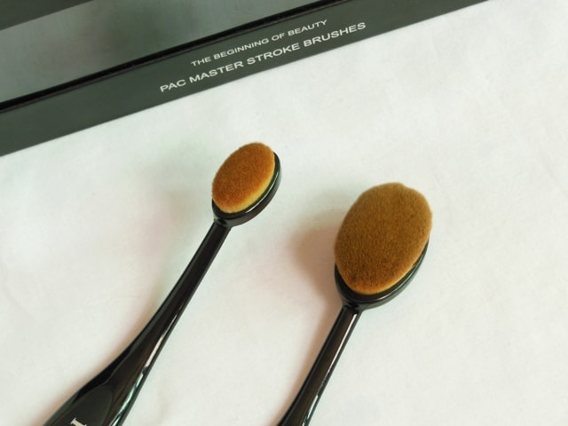 PAC Cosmetics Master Stroke Brush 04 and 05