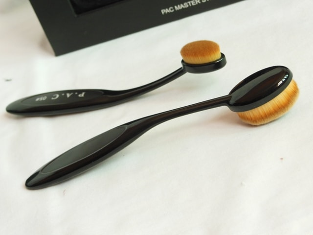 PAC Cosmetics Master Stroke Brushes