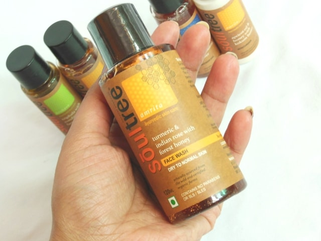 Soultree Turmeric and Indian Rose with Forest Honey Face Wash