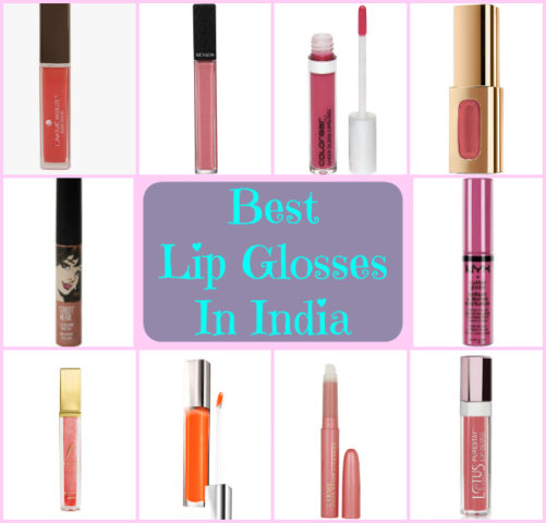 10 Best Lip Glosses in India