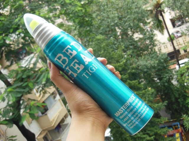 Bed Head TIGI Masterpiece Massive Shine Hairspray Packaging