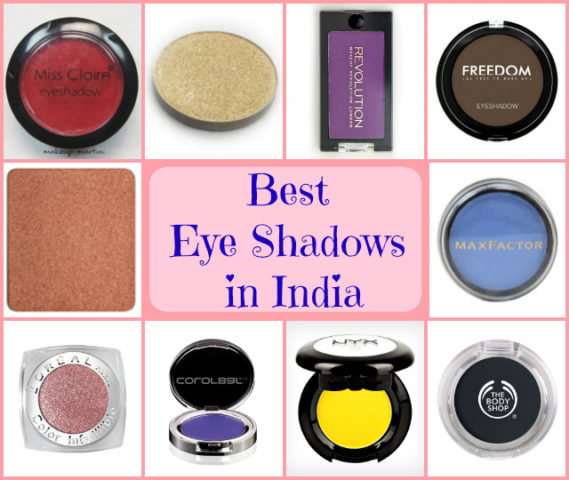 Best Eye Shadows in India