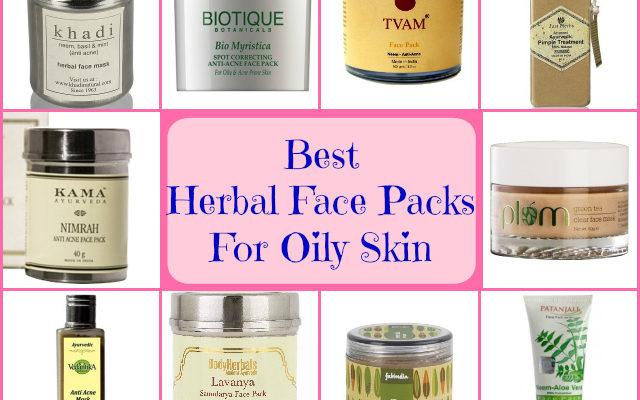 Best Herbal Face Packs for Oily Acne Prone Skin