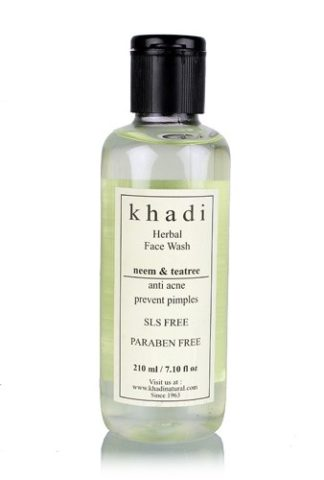 Best Neem Based Natural Face Washes - Khadi Neem and Tea Tree Face Wash