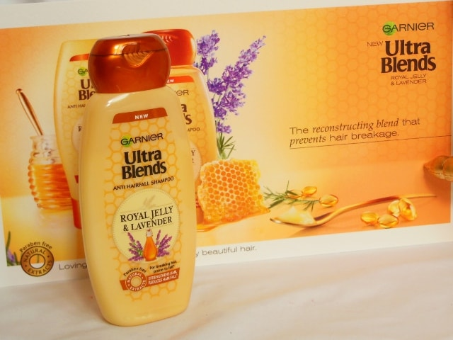 Garnier Ultra Blends - Royal Jelly and Lavendar Shampoo