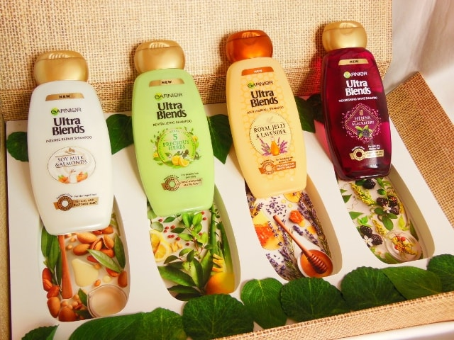 Garnier Ultra Blends Shampoo Range