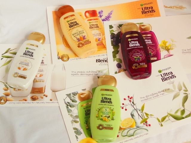 Garnier Ultra Blends Shampoos