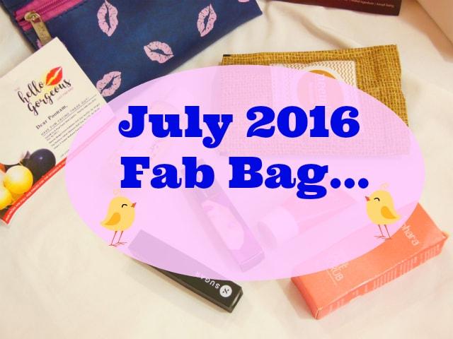 July Fab Bag 2016