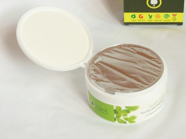 Organic Harvest Hair Spa for Dry and Damaged Hair Packaging
