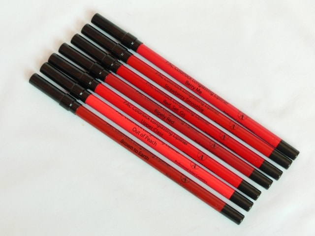 PAC Colorlock Lip Liners Packaging