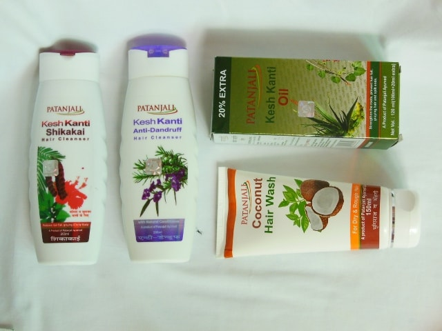 Patanjali Products - Hair Cleansers and Kesh Kanti Hair Oil