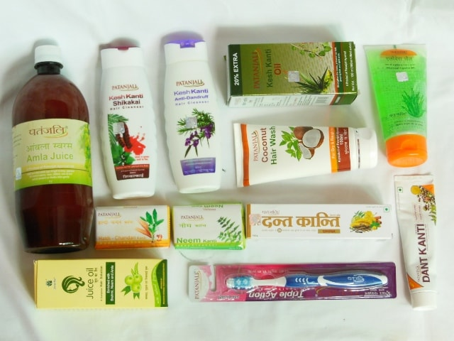 Patanjali Products Haul