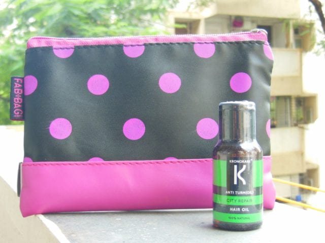 August Fab Bag 2016 - Kronokare Turm(oil) Hair Oil
