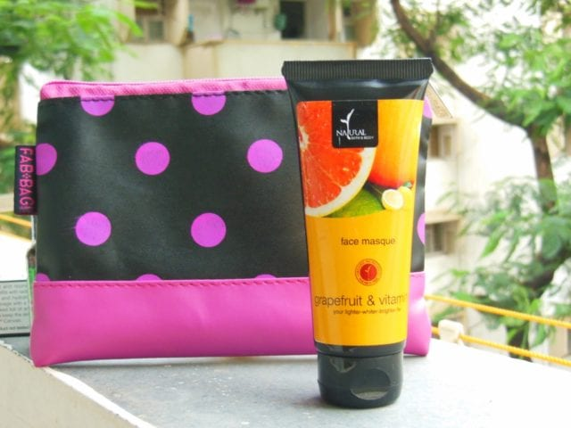 August Fab Bag 2016 - Natural Bath and Body Face Masque