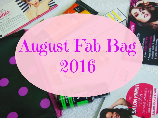 August Fab Bag 2016