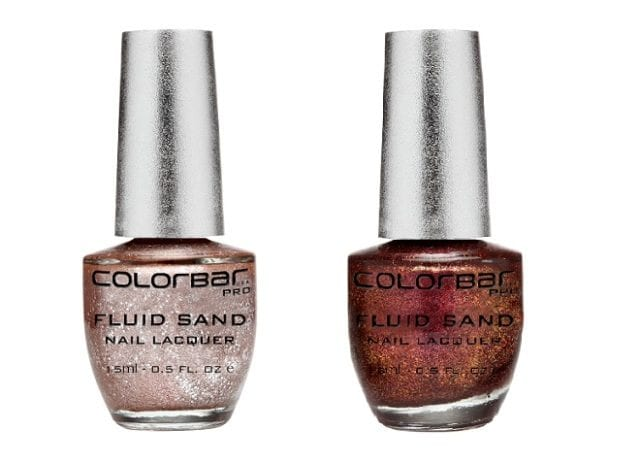 Best Glitter Nail Paints in India -Colorbar Fluid Sand Nail Lacquer