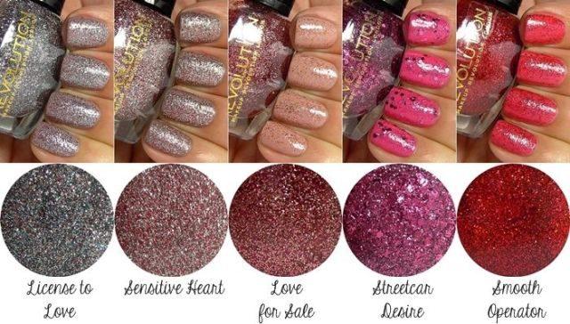 Best Glitter Nail Paints in India -Makeup Revolution Glitter nail Polish