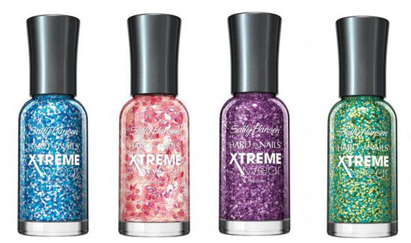 Best Glitter Nail Paints in India -Sally Hansen Hard as Nails Xtreme Wear Sparkle Nail Polish