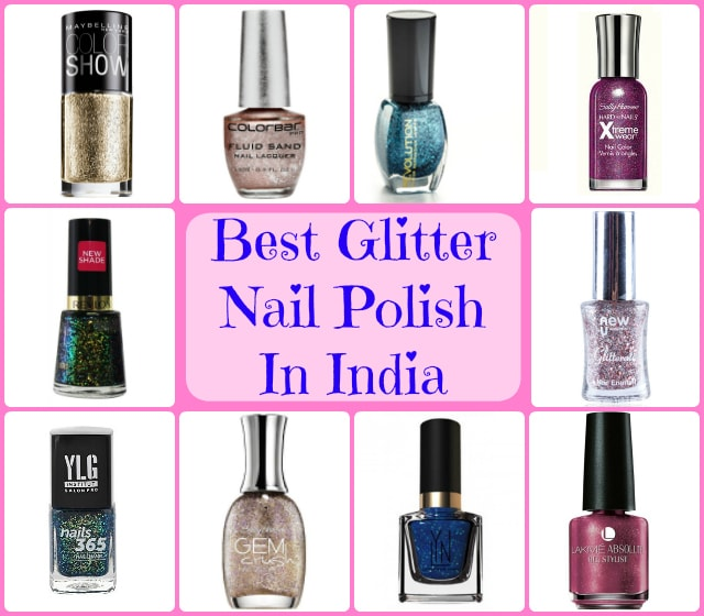 Top Ten Nail Polish Brands: 10 Best Glitter Nail Polish In India: Prices And Buy