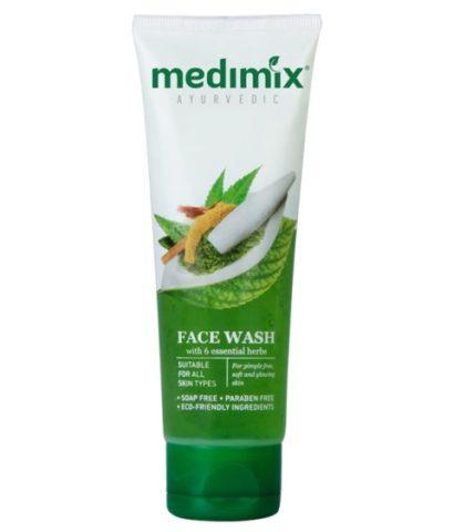 Best Neem Based Natural Face Washes - Medimix Ayurvedic Faces Wash