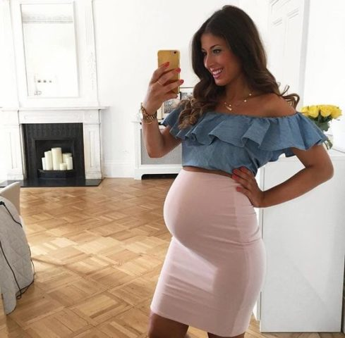 How to look stylish during pregnancy