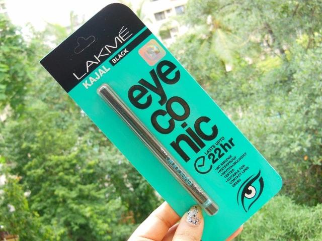 Lakme Eyeconic 22 hr Kajal Black Packaging