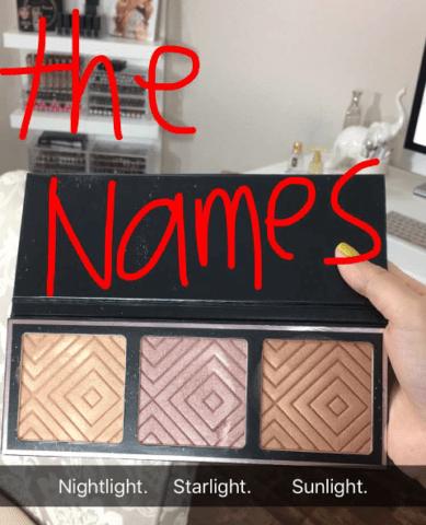 Makeup Geek x Kathleen Lights Highlighter Palette Shades Revealed