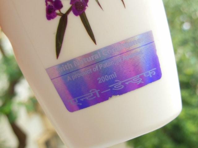 Patanjali Anti-Dandruff Shampoo