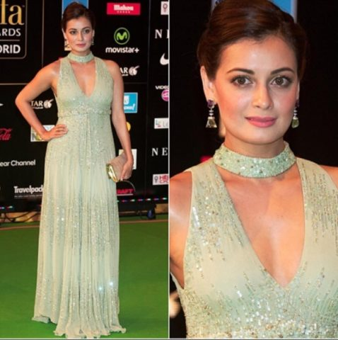 Top 10 Makeup Looks at IIFA -Dia MIrza