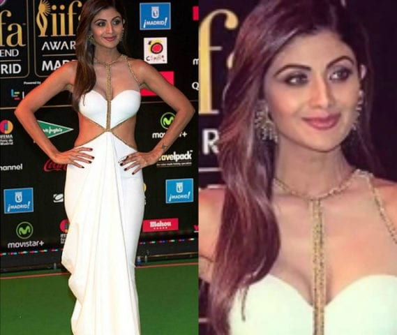 Top 10 Makeup Looks at IIFA -Shilpa Shetty