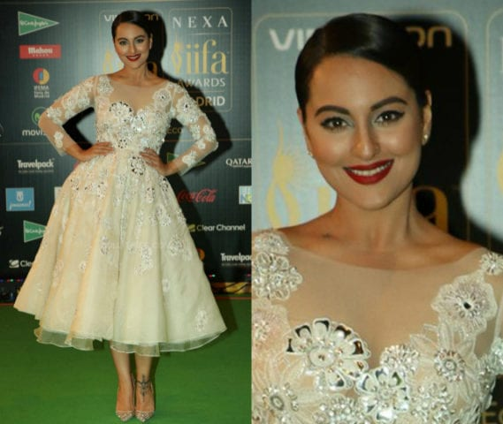 Top 10 Makeup Looks at IIFA -Sonakshi Sinha