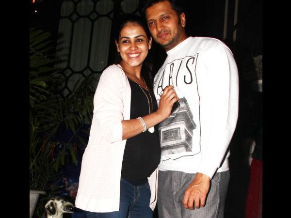 Top 10 Most Stylish Pregnant Bollywood Celebrities - Genelia D'souza Pregnancy