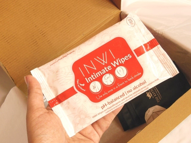 being-juliet-period-subscription-box-intimate-wipes
