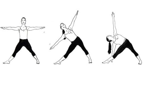 best-yoga-poses-for-pimples-amd-dark-circles-trikonasana