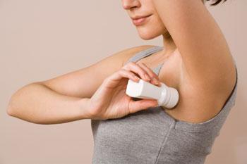 Causes of Dark Underarms - Deodorant