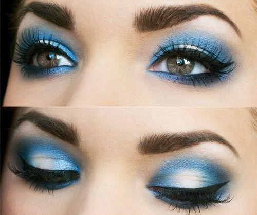 navy-blue-smokey-eye-makeup-with-silver-by-lisa-eldridge