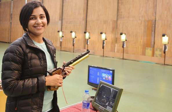 Top 10 Most Stylish Sportswomen of India- Heena Sidhu, Shooting